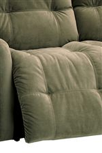 Plush, Tufted Pad-over-Chaise Seat