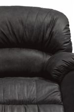 Round, Channel-Tufted Seat Back