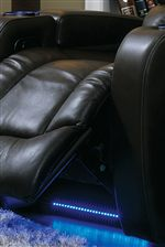Chase-Like Footrest and LED Lighting