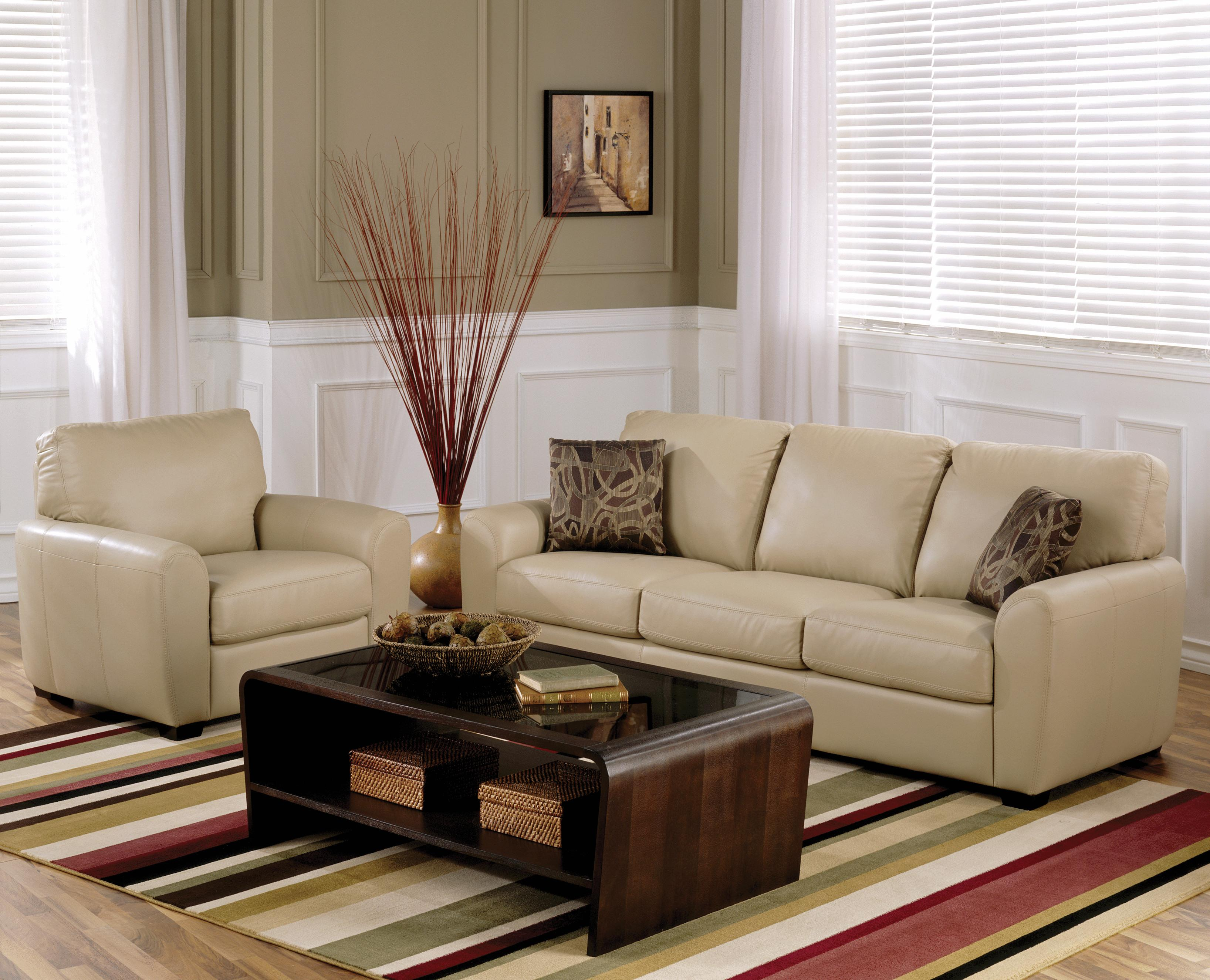 Palliser Connecticut Contemporary Sectional Sofa with RHF Chaise ...
