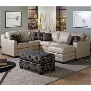 Palliser Corissa Contemporary Sectional Sofa