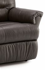 Palliser Mila Power Wallhugger Recliner with Channel-Tufted Back