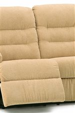 Palliser Fiesta Power Wallhugger Recliner with Channel-Tufted Back