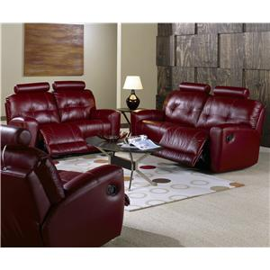 Palliser Galore Contemporary Reclining Loveseat