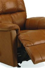 Attached Chaise Footrests Provide Exceptional Comfort for Superb Relaxation