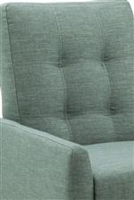 Simple Button Tufting on Seat Back