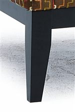 Tall, Tapered Block Leg