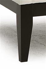Tall, Tapered Block Legs