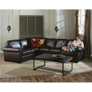 Palliser Magnum Transitional 2 pc. Sectional with LHF Chaise
