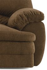 Plush Padded Arms Create an Element of Comfort with a Casual Style