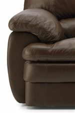 Plush Pillow Arms and Pillow Padded Seat Cushions