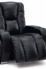 Plushly Padded Back and Channeled Chaise Cushion