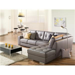 Palliser Pachuca Left Hand Facing Chaise Sectional