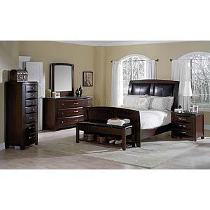 Casana Rodea Platform Sleigh Bed Stoney Creek Furniture