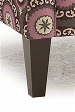 Tall, Tapered Block Legs