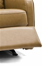 Boxed Seat with Welt Trim and Padded Footrest
