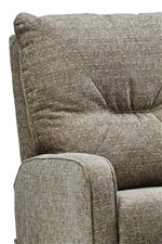 Tufted Back with Arched Track Arm