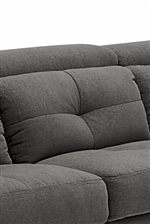 Button-Tufted Back Cushions