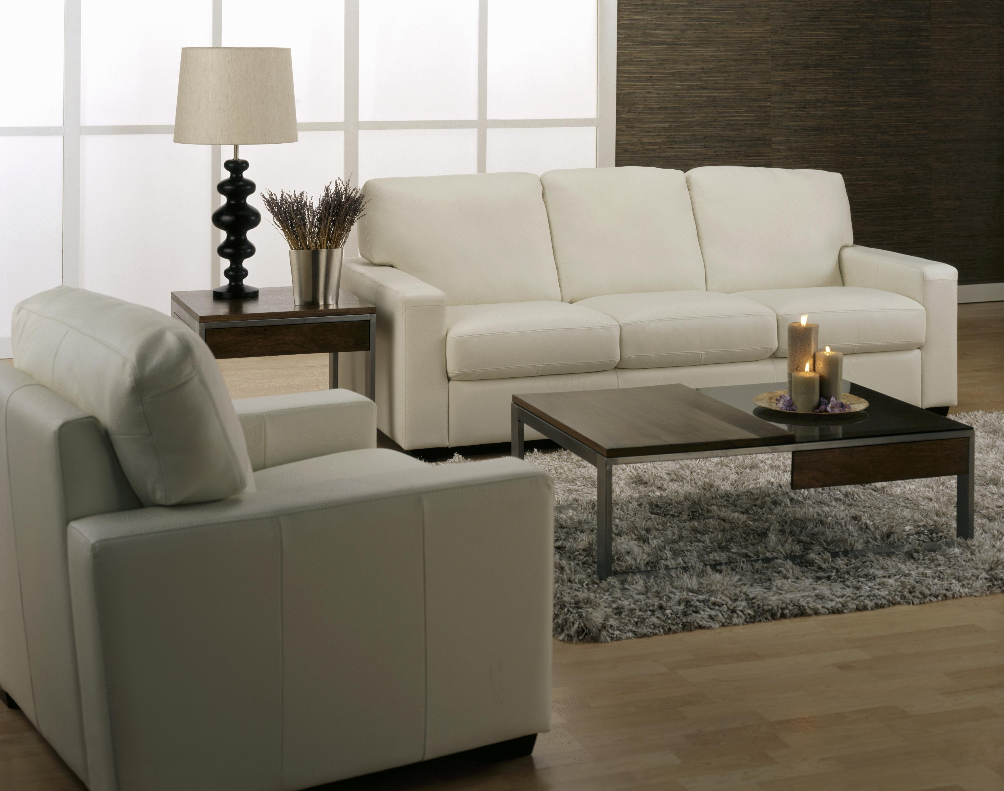 Palliser Westend Contemporary 2 pc Sectional with RHF Sofa Split