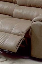 Padded Footrest and Deep Plush Seating for Full Support