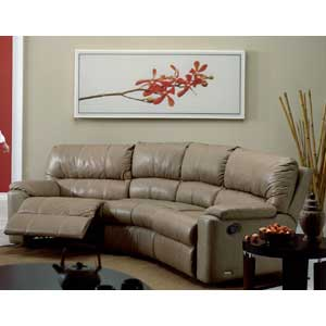 Palliser Yale 41059 Chaise and Recliner Corner Sectional
