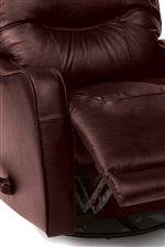 Pad-Over-Chaise Footrests Provide Unbroken Comfort for Exceptional Quality