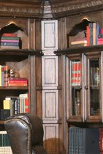 Inside Filler Corner Allows for Easy Library Wall Configuration