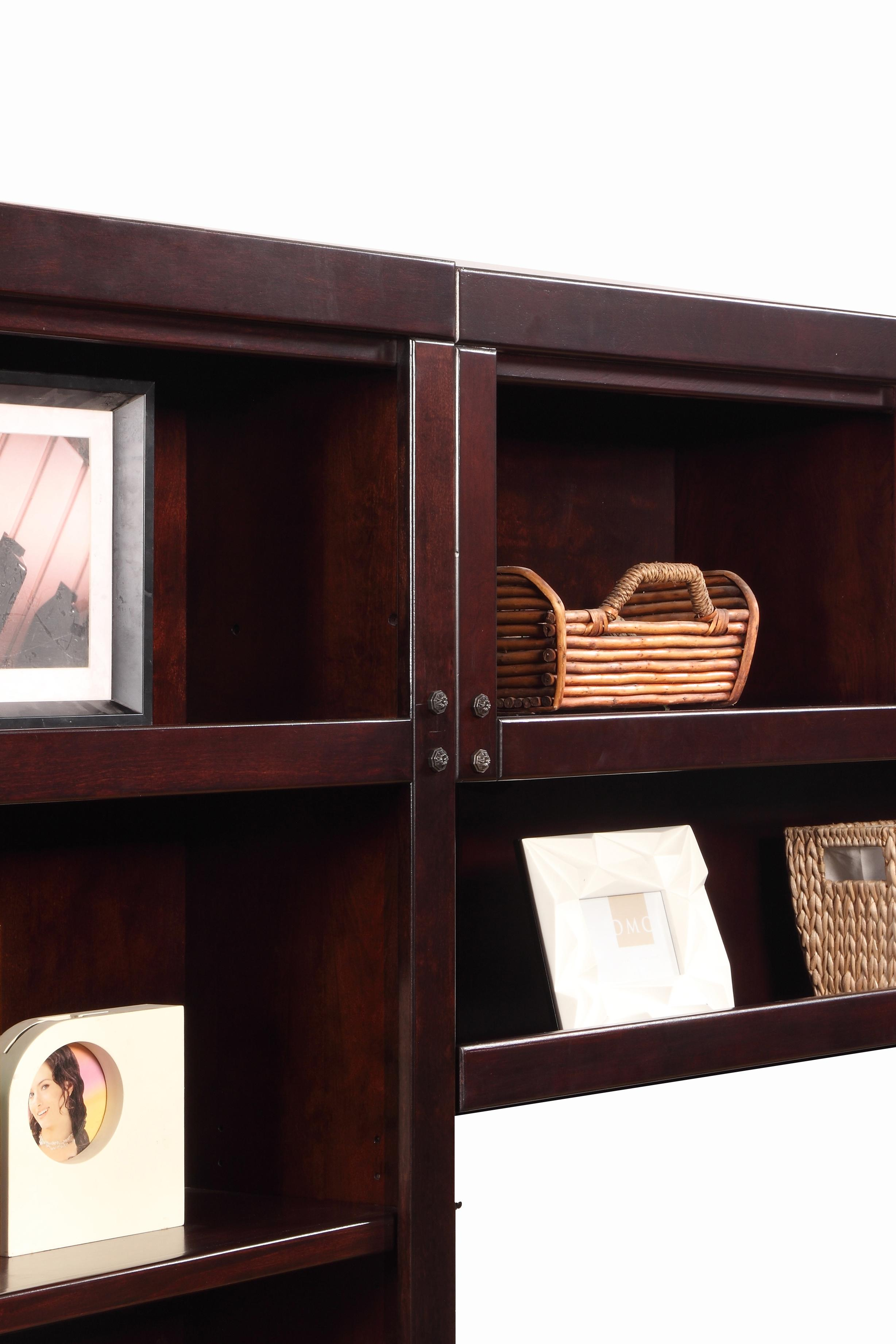 Parker House Boston Expanded Library Wall Unit   Westrich Furniture U0026  Appliances   Bookcase   2 Pc. With Hutch