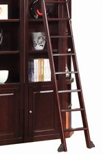 Optional Ladder on Casters Offered for all Library Wall Units