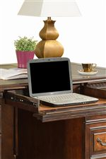 Pull-Out Desk Drawers for Keyboard or Laptop Use