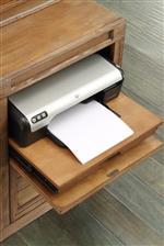 Drop-front Printer Storage