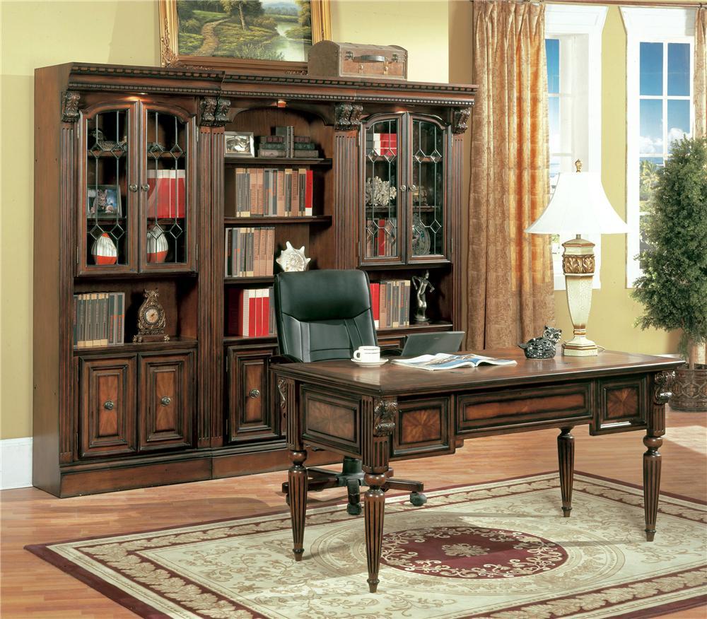 Parker House Huntington Two Piece Peninsula Desk Westrich Furniture Liances Returns