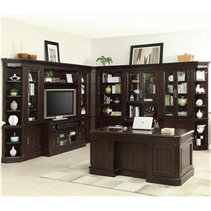 Parker House Stanford Complete Wall Unit with Built In Desk