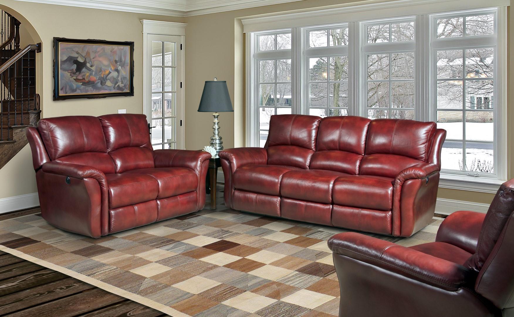 Parker Living Lewis Reclining Living Room Group - Item Number: MLEW-LI-Living Room Group