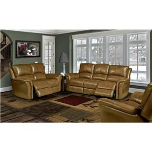 Parker Living Lewis Casual Reclining Sofa with Split Backs