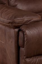 Large Pillow Arm with Topstitching