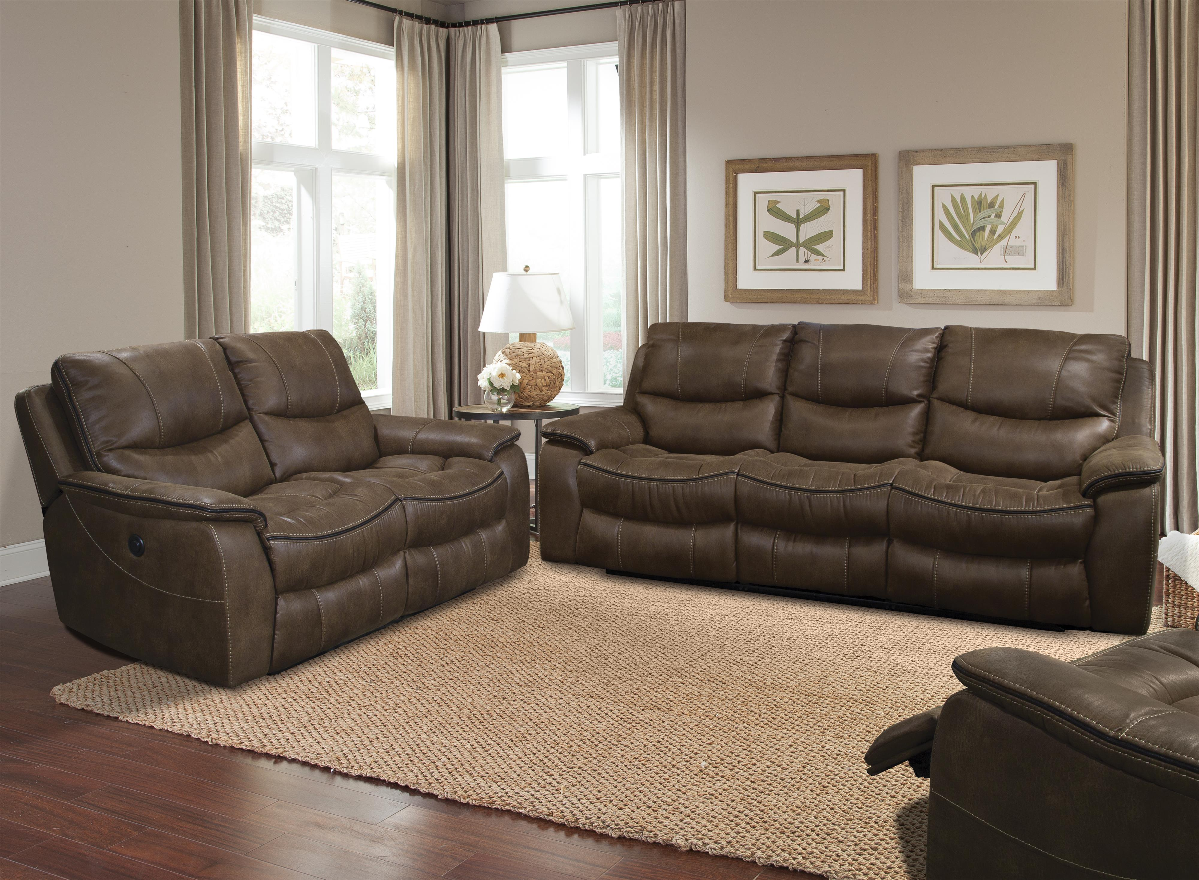 Parker Living Remus Casual Reclining Living Room Group - Item Number: MREM Reclining Living Room Group 1