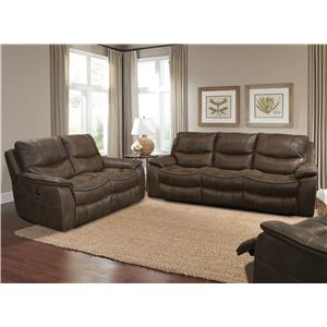 Parker Living Remus Casual Reclining Living Room Group