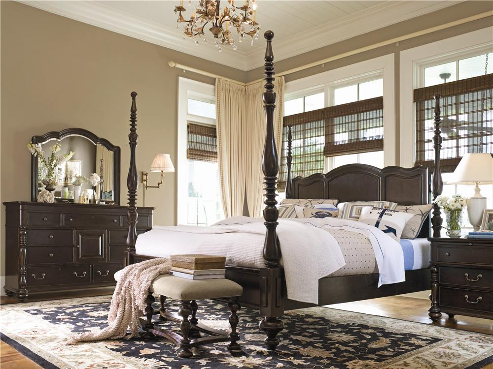 Paula Deen by Universal Paula Deen Home King Bedroom Group - Item Number: 932 K Bedroom Group 2