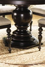 Turned Table Pedestal