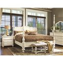 Paula Deen by Universal Paula Deen Home Queen Bedroom Group - Item Number: 996 Q Bedroom Group 1