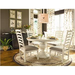 Universal Home Counter Height Chair with Upholstered Seat