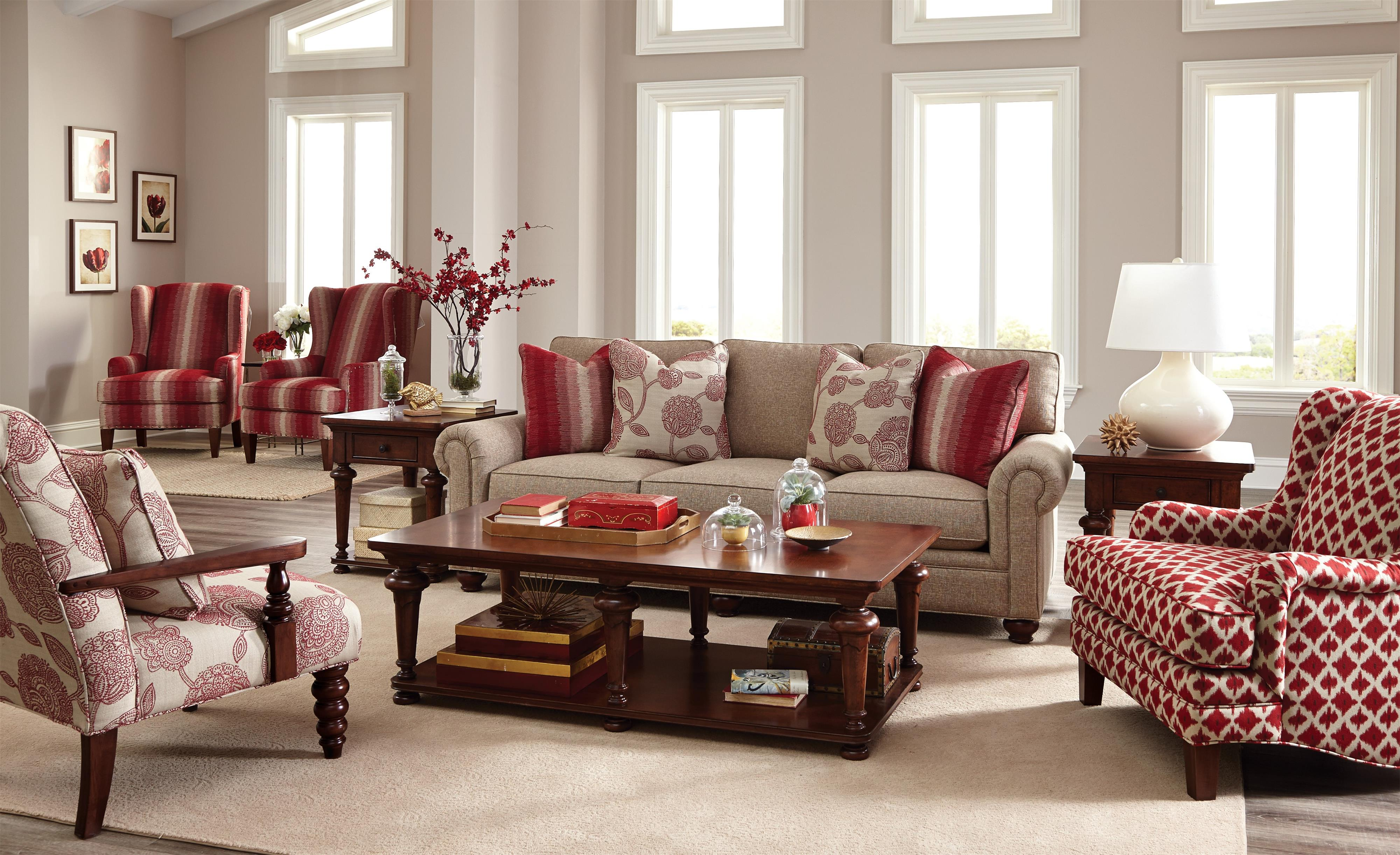Captivating Paula Deen By Craftmaster P7552 Traditional Sofa With Roll Pleated Arms    Sprintz Furniture   Sofas Nashville, Franklin, And Greater Tennessee Part 27