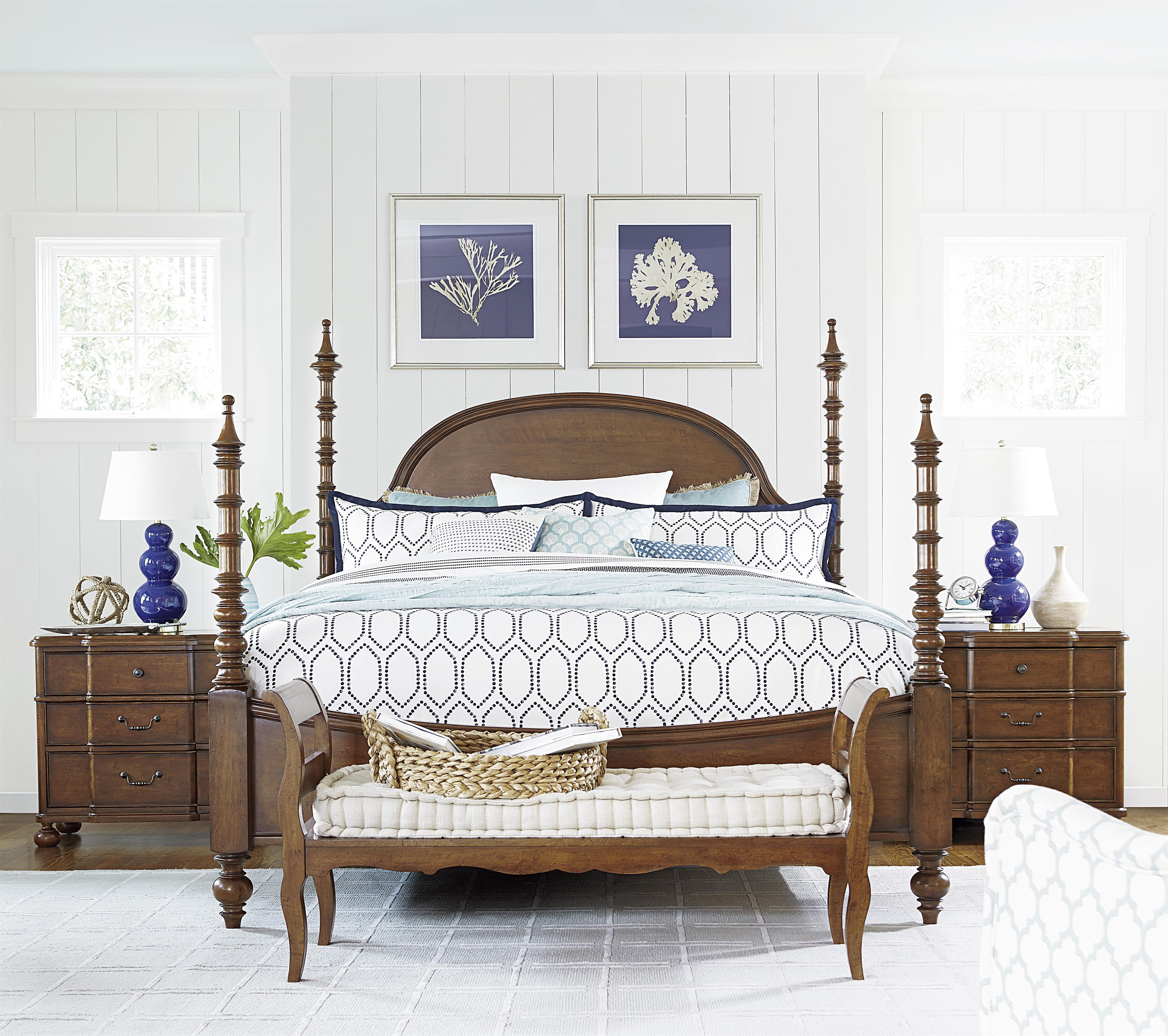 Paula Deen by Universal Dogwood Queen Bedroom Group - Item Number: 596 Q Bedroom Group 1