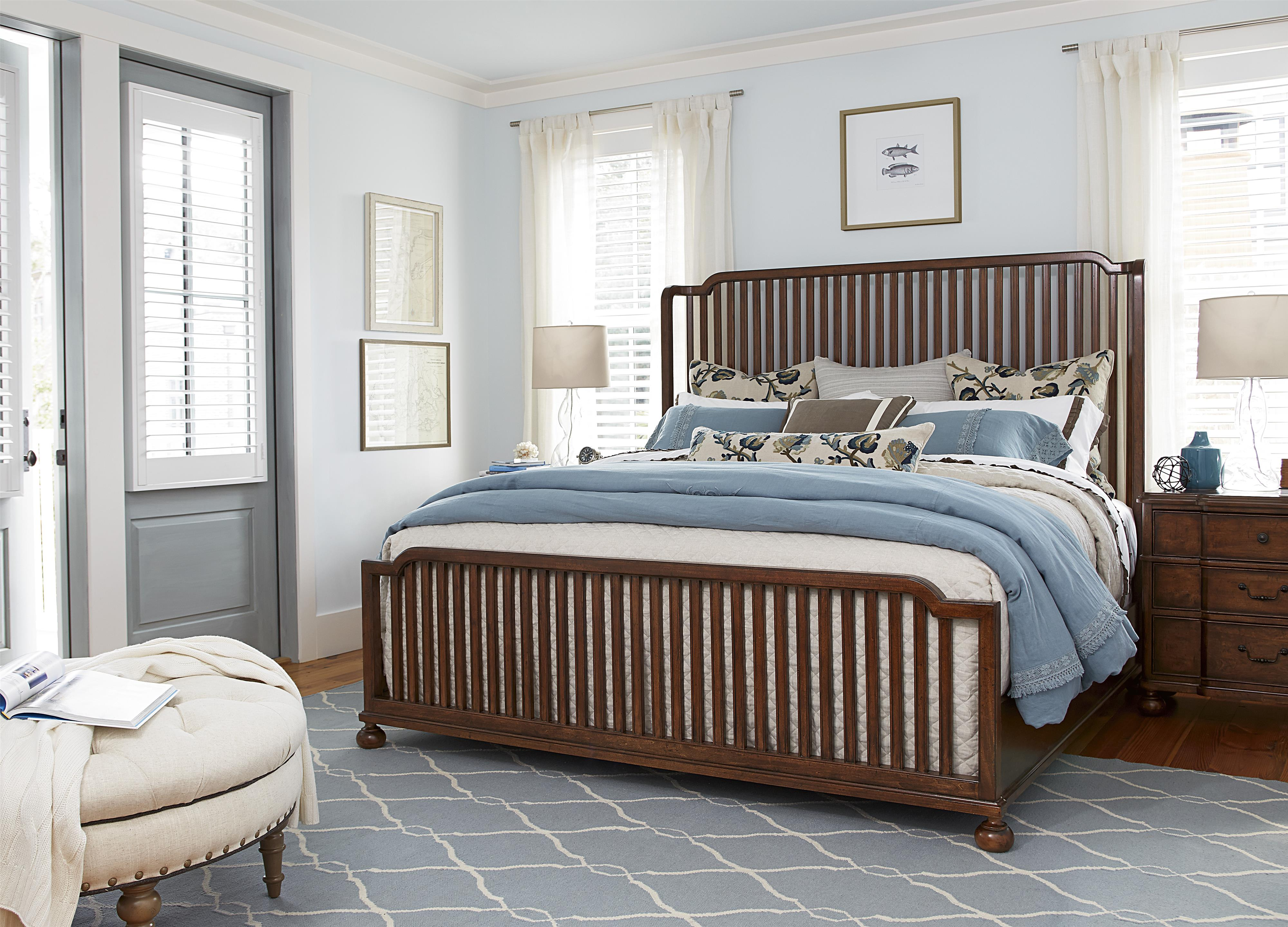 Paula Deen by Universal Dogwood Queen Bedroom Group - Item Number: 596 Q Bedroom Group 4