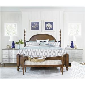 Paula Deen by Universal Dogwood King Bedroom Group