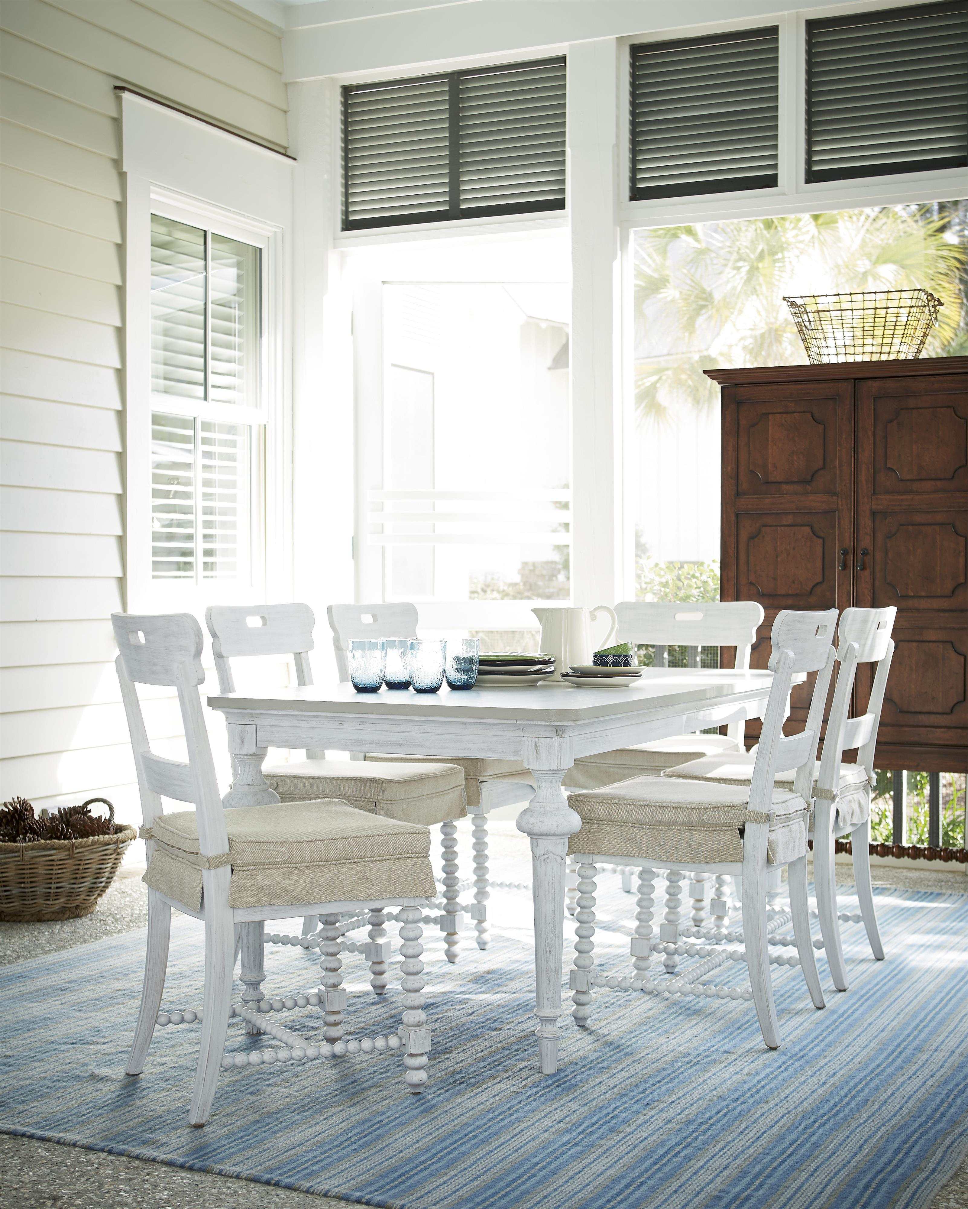 Paula Deen by Universal Dogwood Casual Dining Room Group - Item Number: 597 Dining Room Group 2