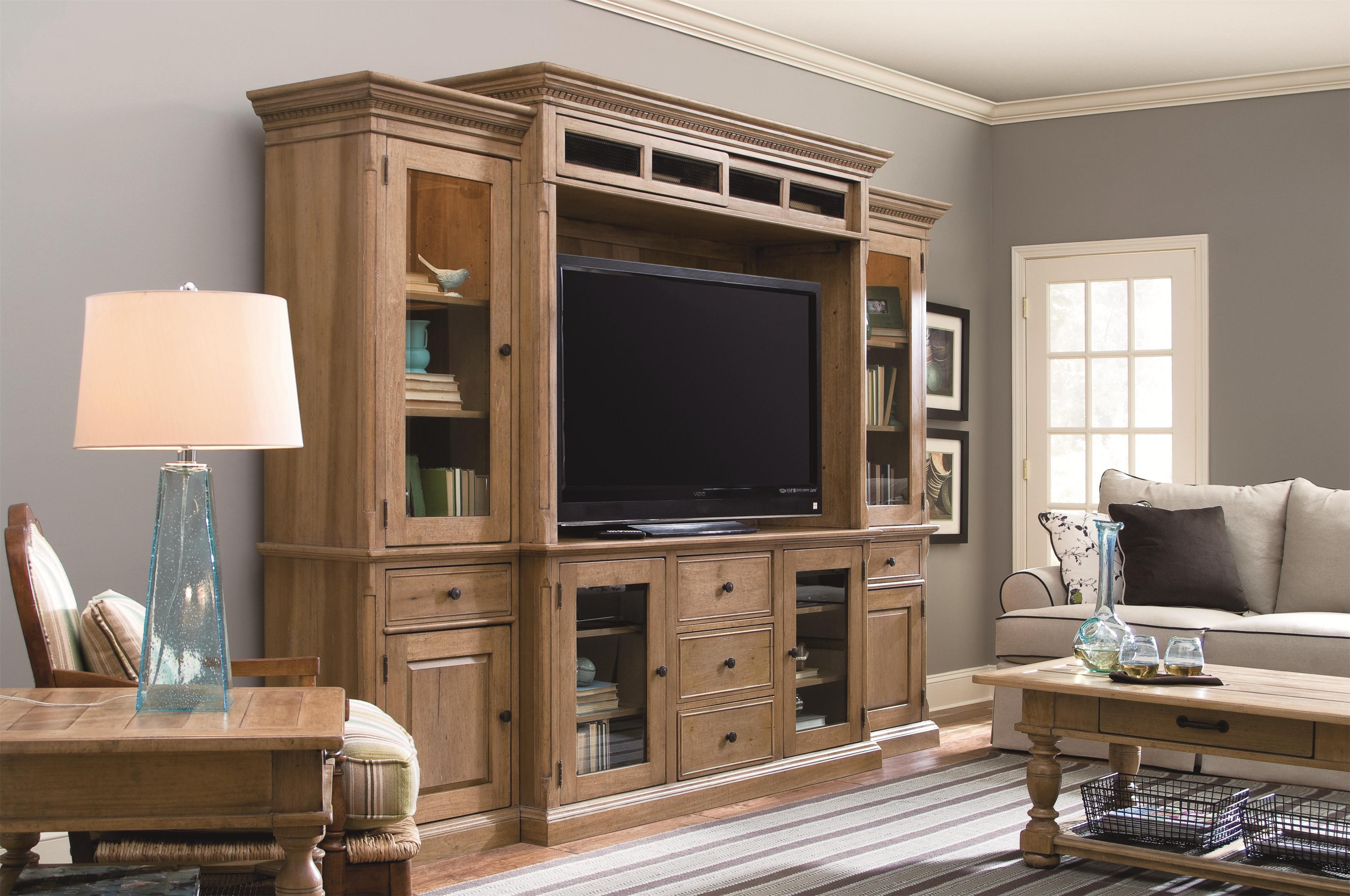 Incroyable Paula Deen By Universal Down Home Entertainment Console Wall Unit | Wayside  Furniture | Wall Unit