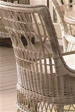 Wicker Adds a Refreshing Outdoorsy Feel to the Collection