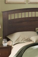 Arched Slated Headboard